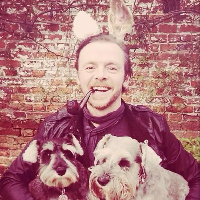 Happy 49th birthday extraordinary Simon Pegg