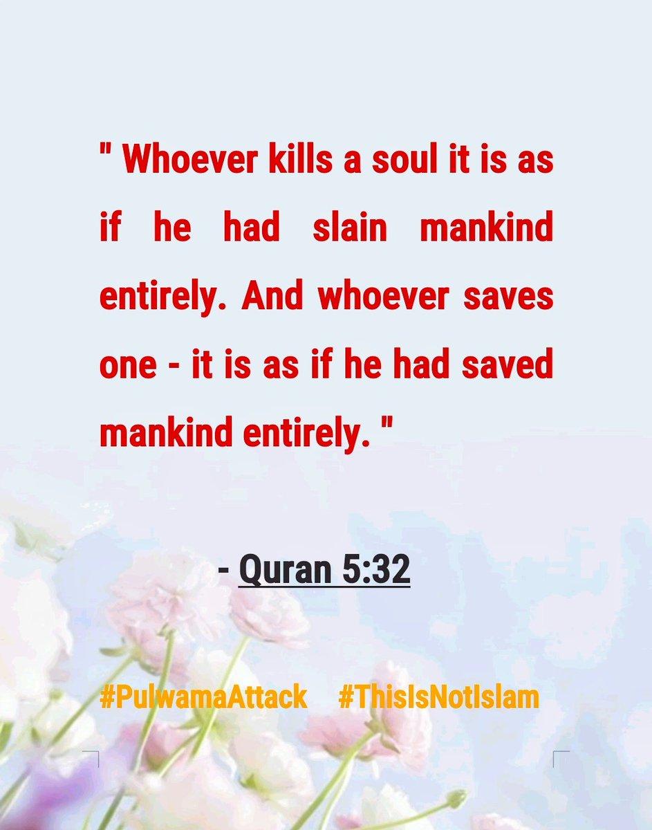 #ThisIsNotIslam #Pulwamaattack
