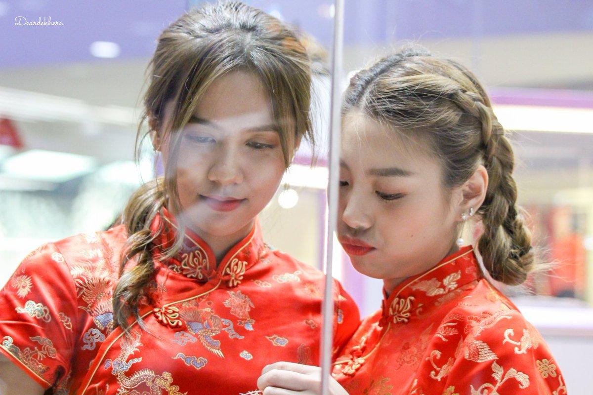 Happy Valentine's Day จ้าจ้า~🌹😊  #KaewBNK48 #NamneungBNK48 #BNK48
