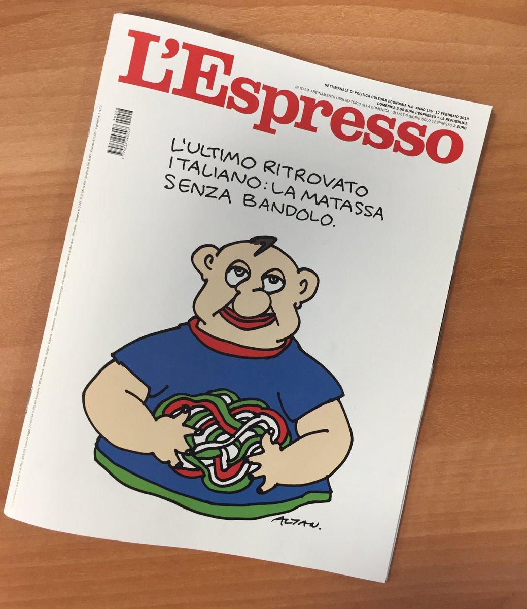 La nuova copertina de #lEspresso in edicola da oggi. E se non potete andare in edicola:  📰 Per abbonarsi all'edizione cartacea https://t.co/5bNcOTH5hb  💻 Per abbonarsi all'edizione digitale  https://t.co/DT6PLqtwpO