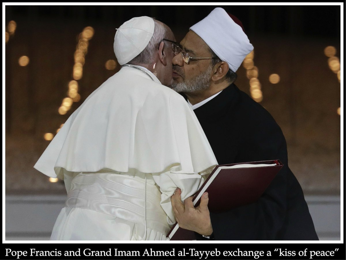 My column for @Church_Militant on &quot;How the world&#39;s most famous Muslim played Pope Francis for a fool.&quot; Al-Tayyeb has adroitly twisted the pontifical mitre into a dunce cap. @Pontifex @AlazharNews @JustinWelby #ReligionOfPeace #PopeFrancisInUAE #PopeFrancis  https:// bit.ly/2SNtt3Q  &nbsp;  <br>http://pic.twitter.com/Z7eP4NdxdK