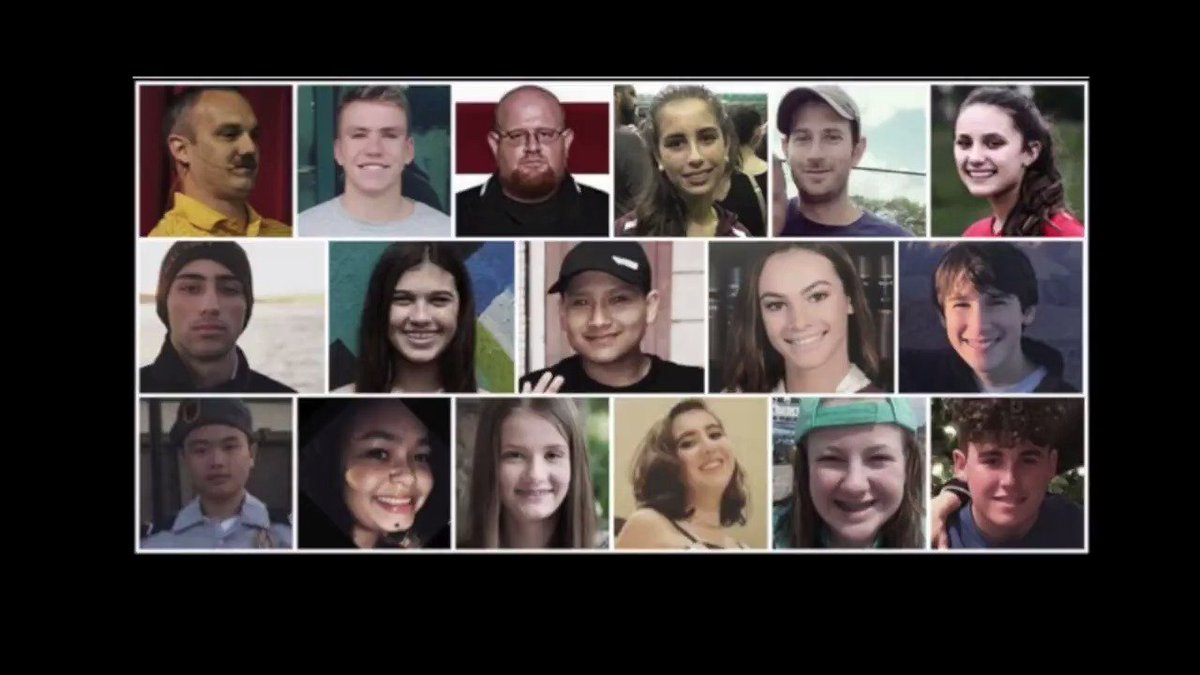 On the one-year anniversary of the unthinkable murders at Marjory Stoneman Douglas, I join all Americans in remembering the lives cut too short in Parkland and in all other senseless acts of school violence across the country.