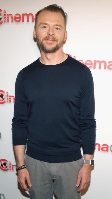 Happy birthday to CinemaCon regular Simon Pegg!