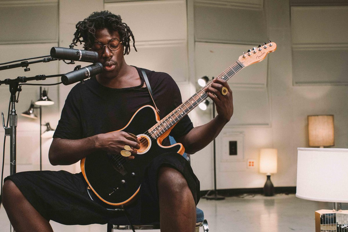 Clean, crisp, and unmistakably Fender. The all-new American Acoustasonic Telecaster speaks for itself. Watch the full demo by @MosesSumney here: http://bit.ly/2X0r2df