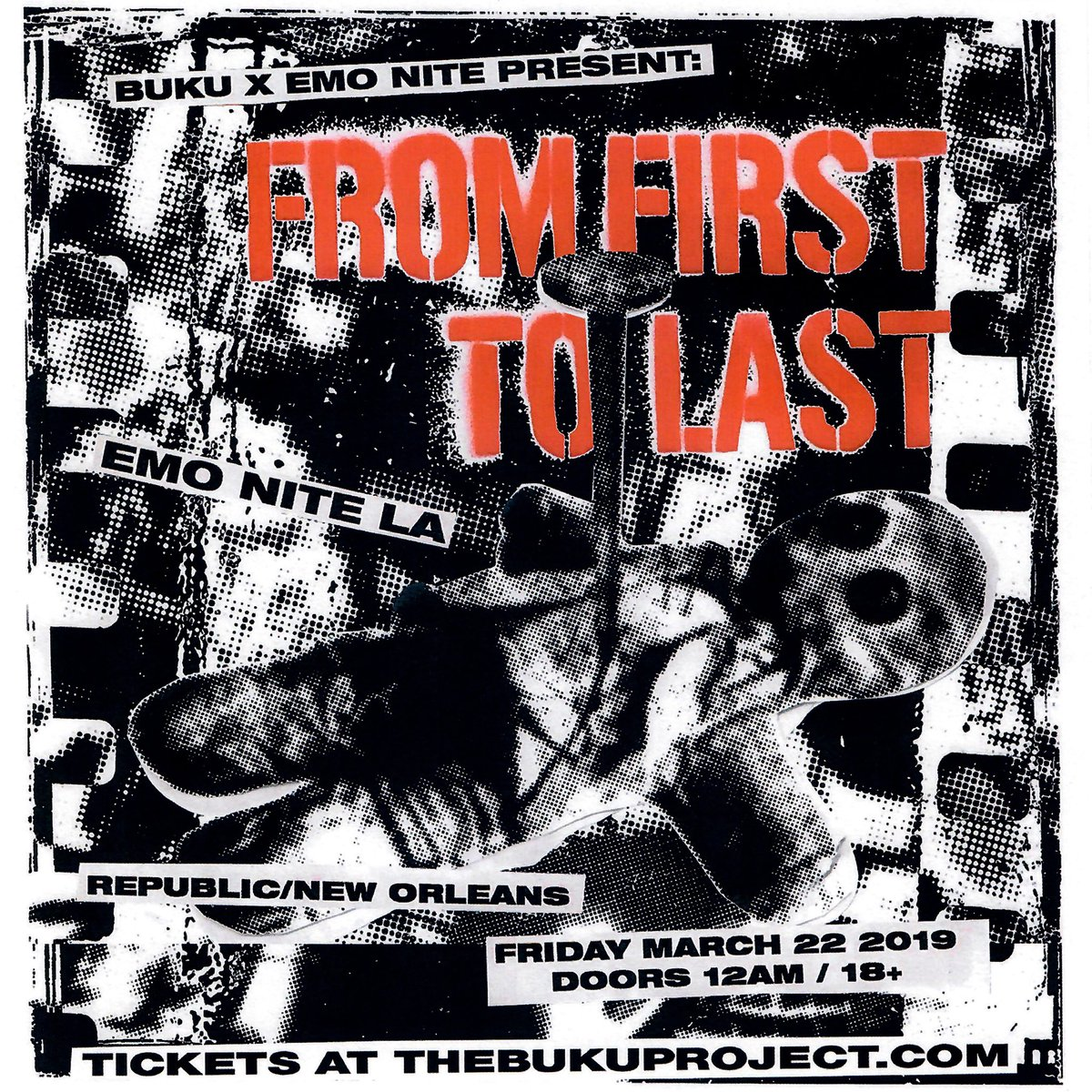 From First To Last Announce Show With Original Singer Skrillex