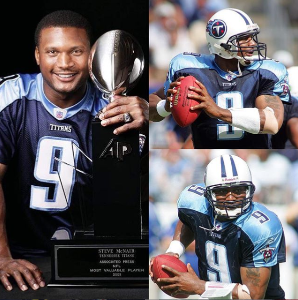 Happy Birthday to the late, great Steve McNair