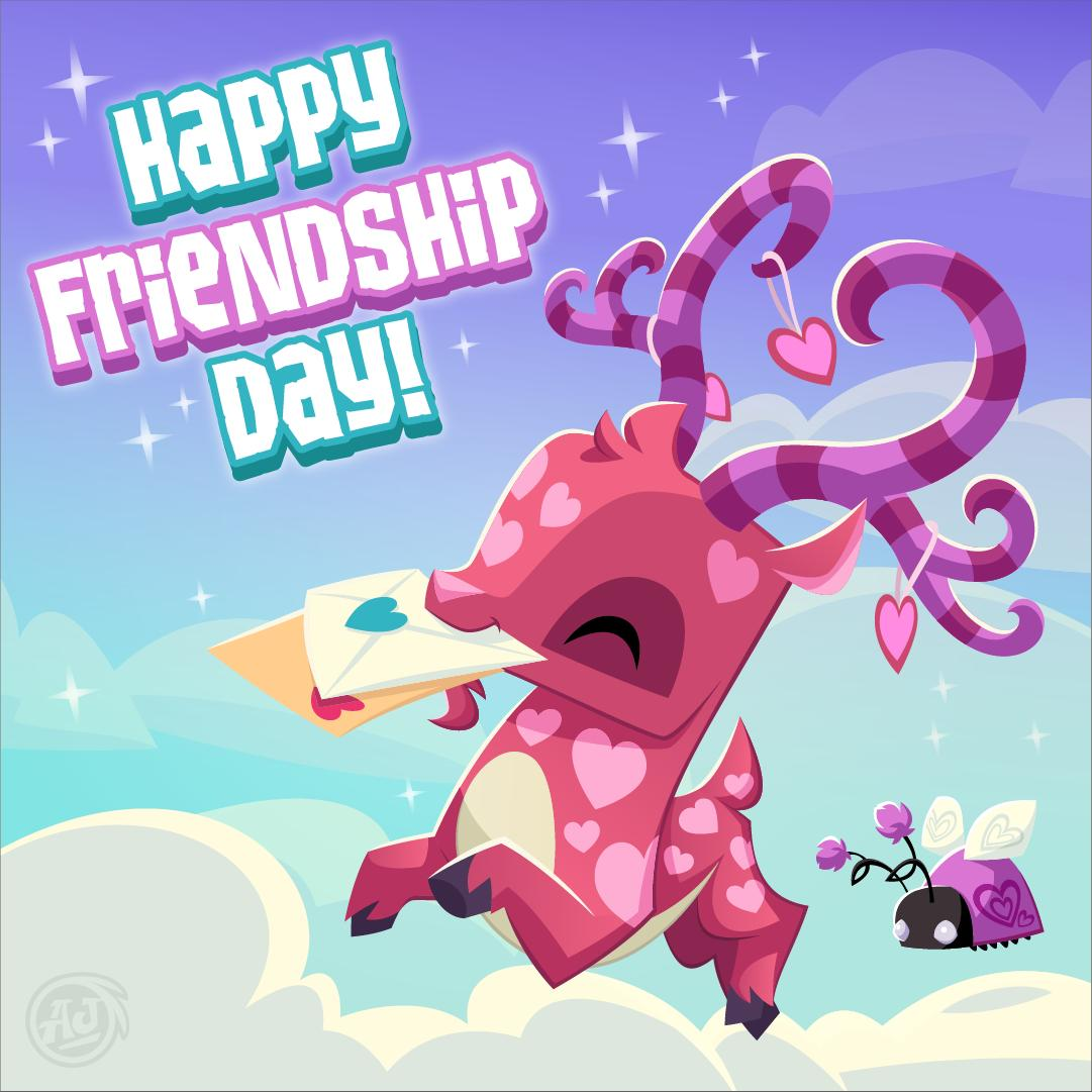 Don't forget to celebrate the day with your buddies in Animal Jam and Play Wild! #AnimalJam #PlayWild #FriendshipDay #KidsGamespic.twitter.com/WQDX6704Z5