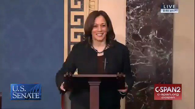 WATCH: This is the moment the Senate unanimously passed the Justice for Victims of Lynching Act. I'm so proud we were able to get this done. Grateful to @SenBooker & @SenatorTimScott for their partnership in this and looking forward to getting this bill finally signed into law.