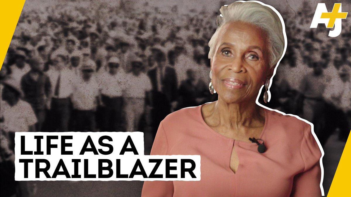 This is what it was like to be the first African American woman reporter in a newsroom. #BlackHistoryMonth