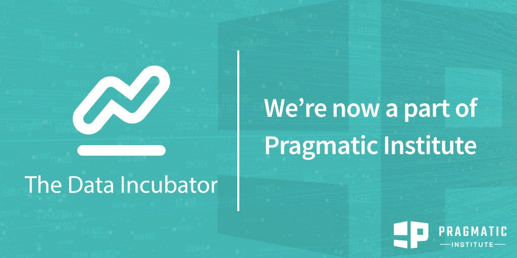 Wow! A.W.E.S.O.M.E! Congrats @tianhuil and the entire @TheDataInc and @PragmaticMkting teams >> now joining forces to become The Pragmatic Institute: https://t.co/dOj96Ot9t0  📊📈✨🌟🏆🎉