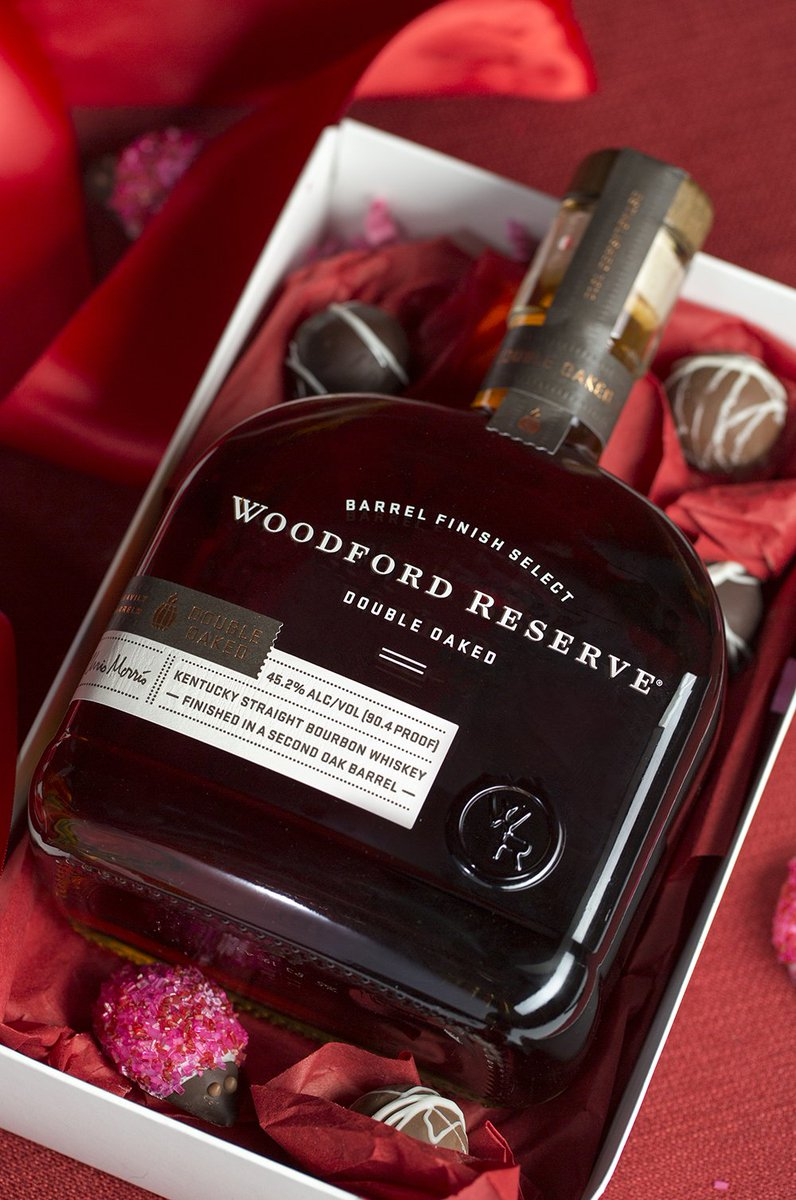 Love is shaped like Bourbon. #woodfordreserve