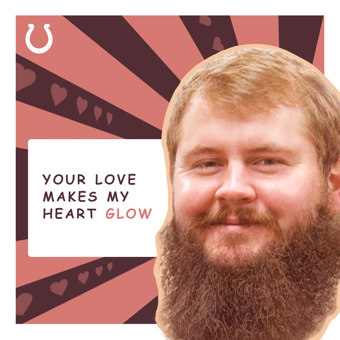 Happy #ValentinesDay Colts fans! 💙 https://t.co/5twlXSn70J