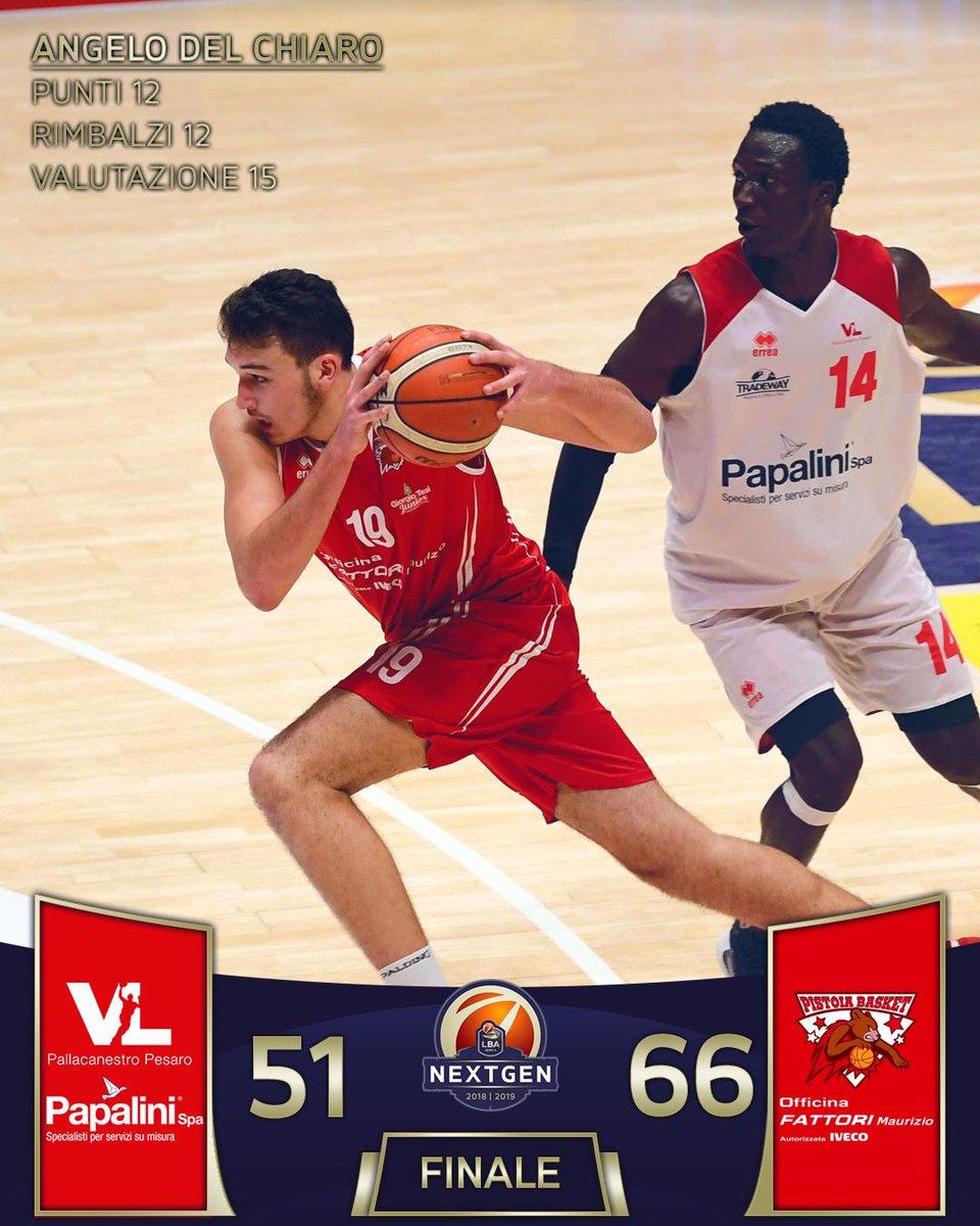 Il @PistoiaBasket supera la @VLPesaro nella seconda sfida del Girone F odierna! 51-66 il risultato finale #TuttoUnAltroSport