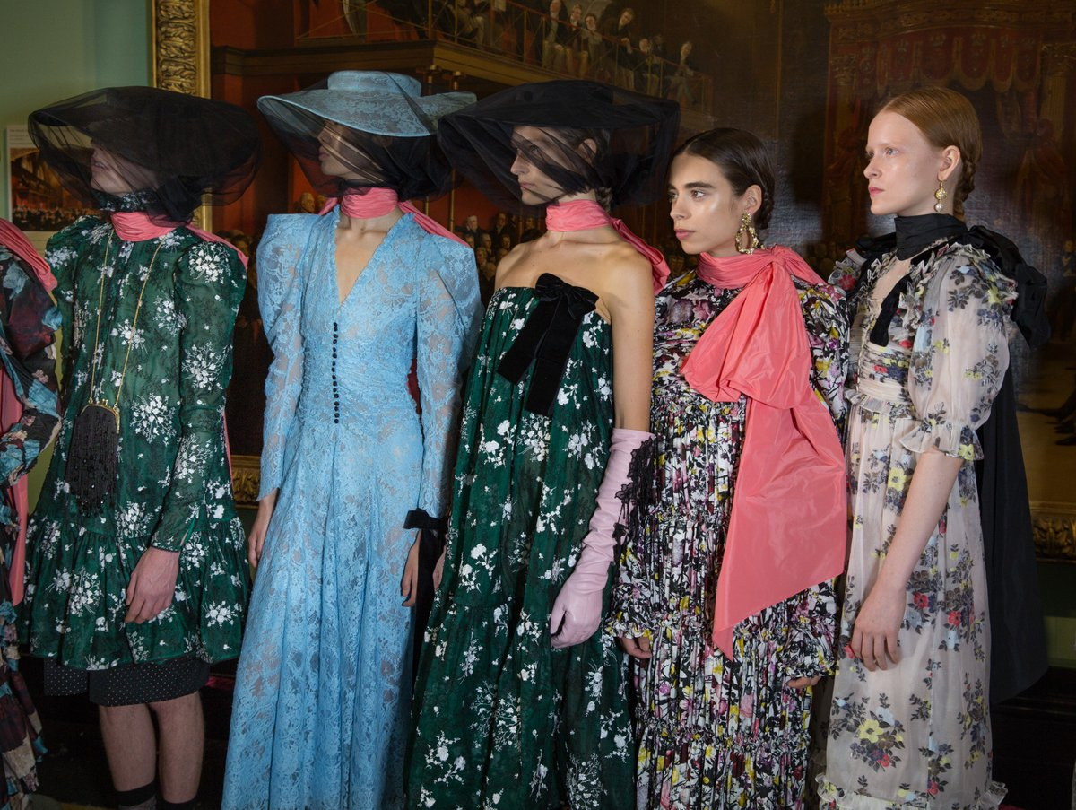 London Fashion Week On Twitter Backstage At Erdem S Ss19 Show Returning To The Official Lfw Schedule For February 2019 See The Full List Of Designers Presentations And Events At Https T Co Mfaet6u5r9 Https T Co Ck5rv0wrqd