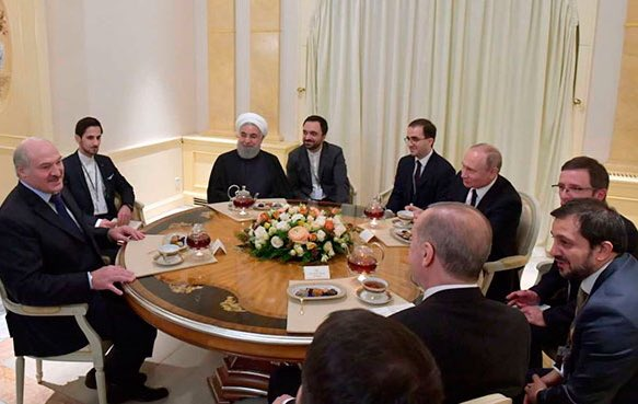 В переговорах в Сочи принял участие Лукашенко