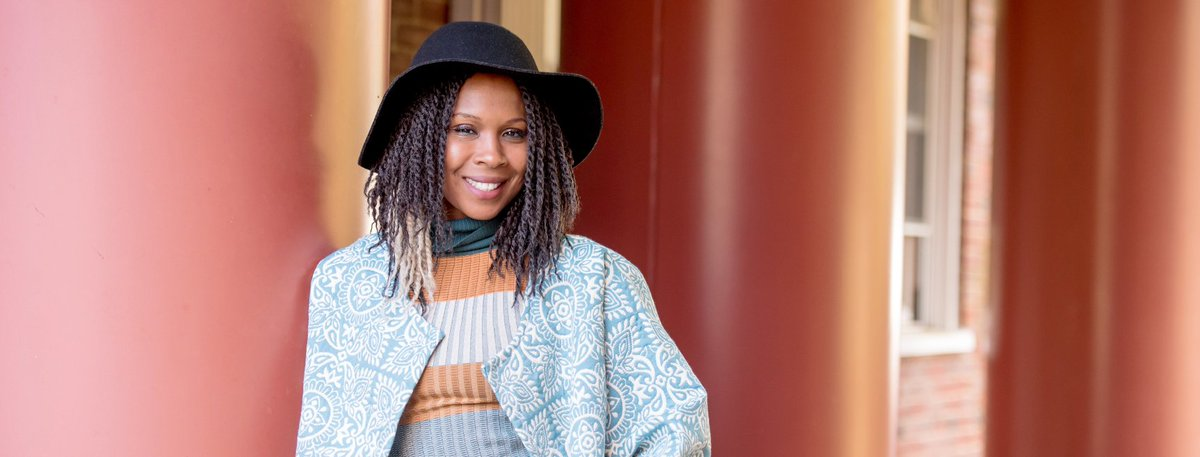 """""""When women put on our garments, I hope they feel powerful... a feeling of strength and confidence- making a bold statement as if to say 'I belong here.'"""" - Joelle Fontaine, Founder of @iamKREYOL. Learn about the story & inspiration behind this brand here http://ow.ly/Mpbd30nHxAB"""