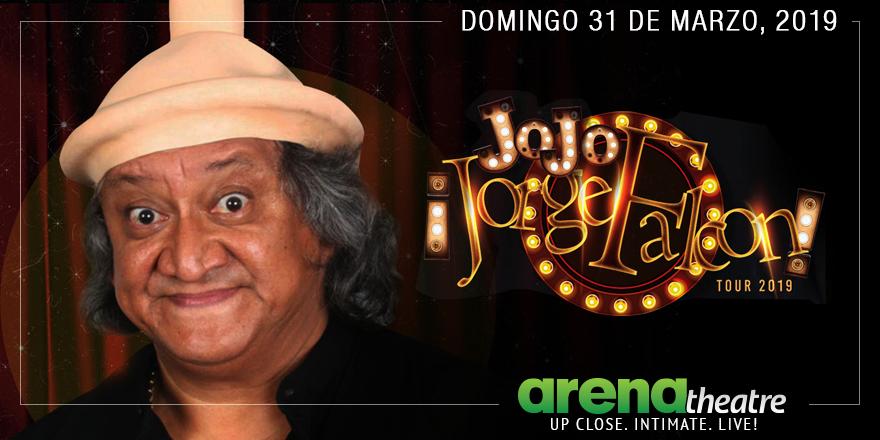 ¡Jorge Falcon se presenta en #ArenaTheatre! 😂😂 😂 No te pierdas la oportunidad de verlo en vivo el domingo 31 de marzo! Los boletos salen a la venta mañana, viernes 15 de febrero a las 10:00 a.m. Para más detalles, visita  👉https://bit.ly/2TNRaWJ --#LiveShow #Comedia #Houston