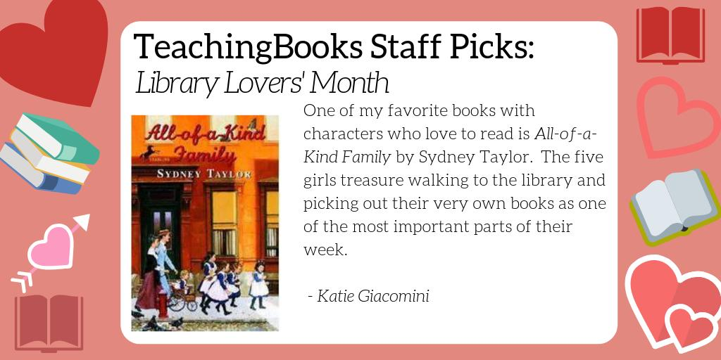 test Twitter Media - February is Library Lover's Month. What's your go-to book about libraries or book lovers? Here's a resource for a favorite of ours - https://t.co/D5n6WvrFwR   @randomhousekids https://t.co/OXYcyKts0f