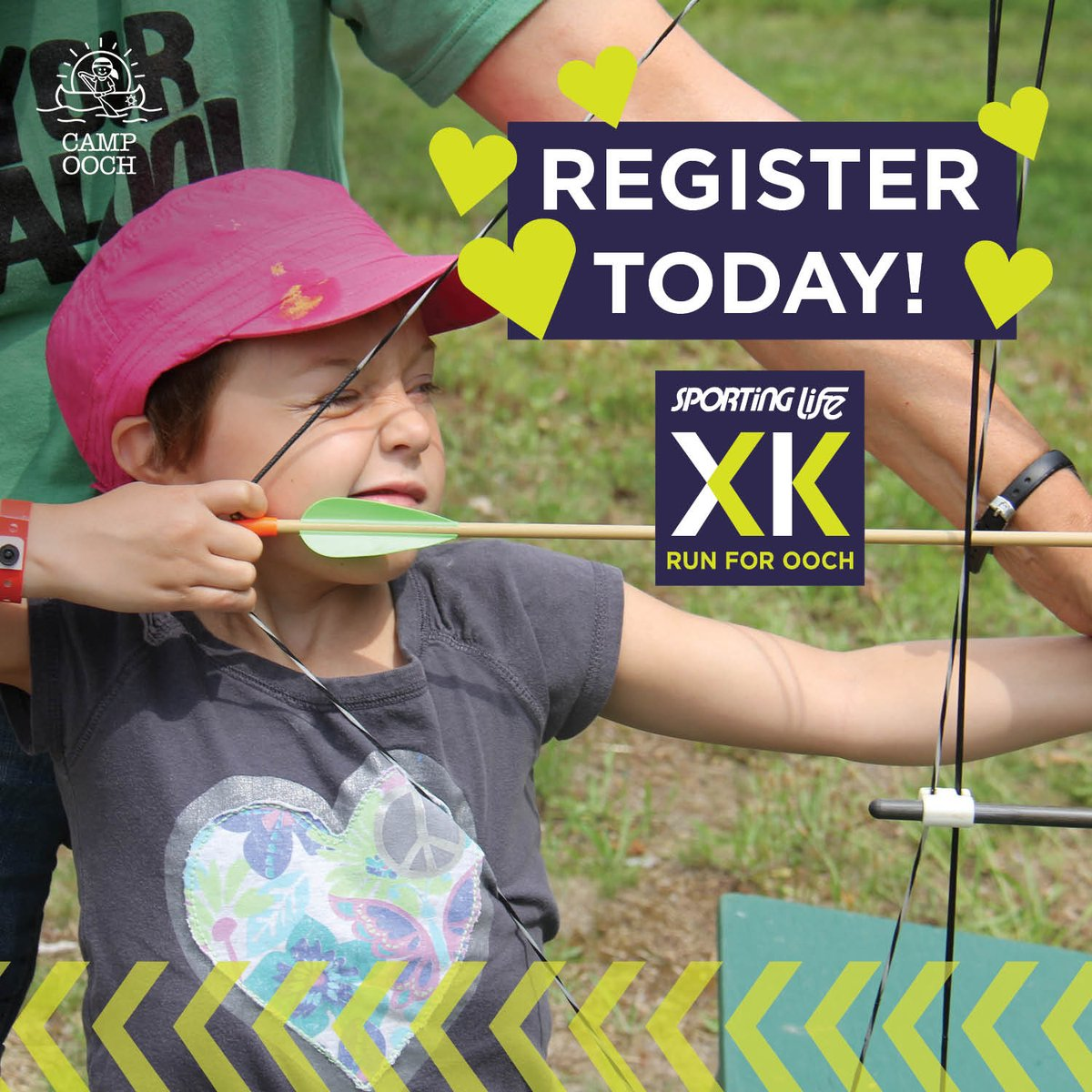 Show Ooch some love and register today for the Sporting Life 10k! Toronto registration fees increase tomorrow. Register now to save https://sportinglife10k.ca/toronto/register/… #SL10K #CampOoch #WeRunForOoch