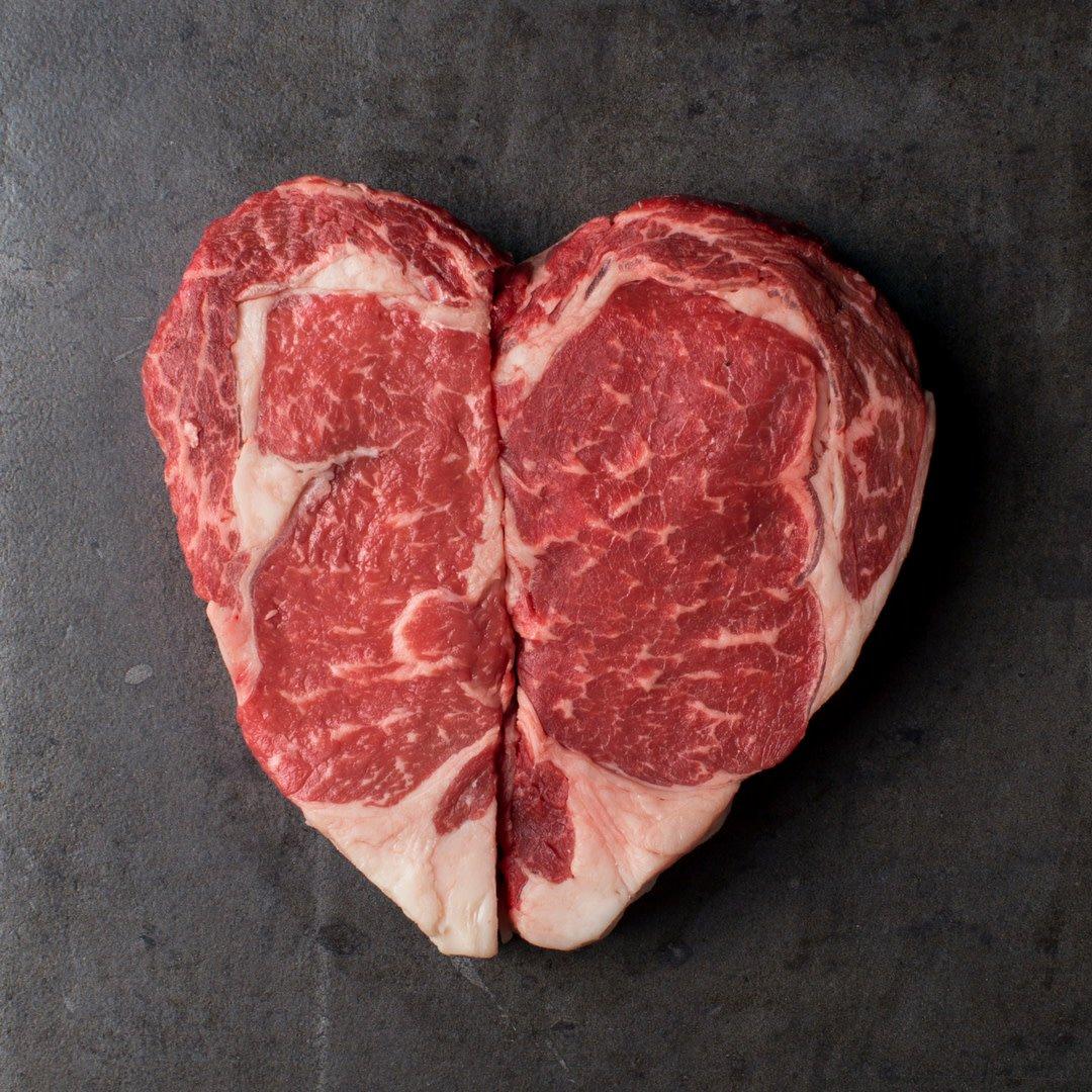 Valentine ... I only have ribeyes for you. ❤️ 🥩  #happyvalentinesday #valentinesday