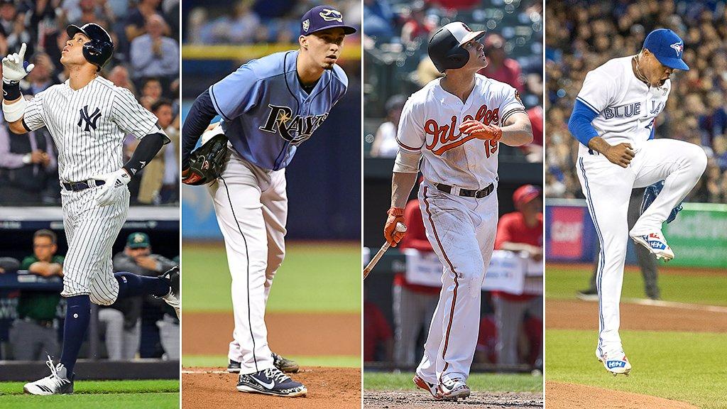Who has the best uniform in the AL East? https://t.co/bGxvHQXNzo