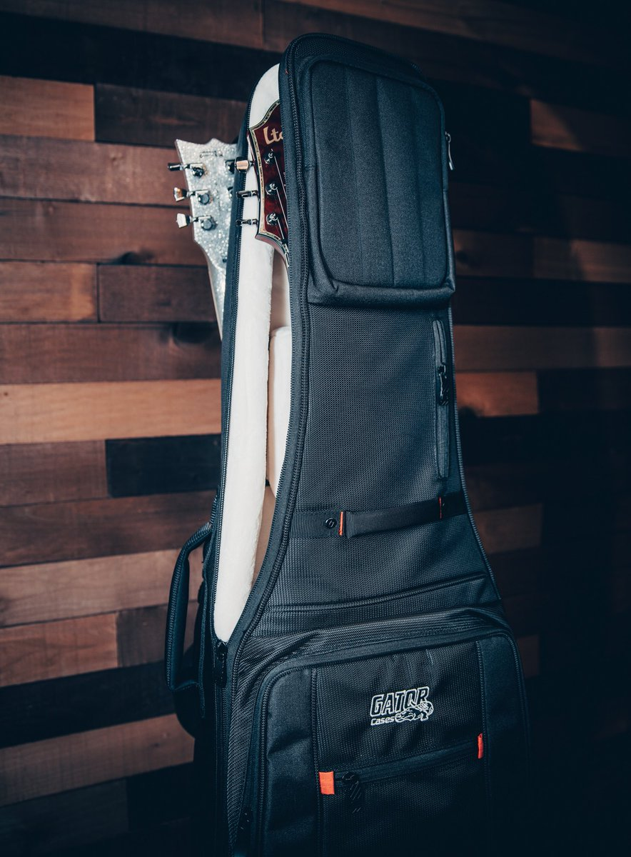 In CASE you didn't know... you croc our world 🐊 🌎 Happy #ValentinesDay from Gator Cases and our Dual Pro-Go gig bag! ❤️
