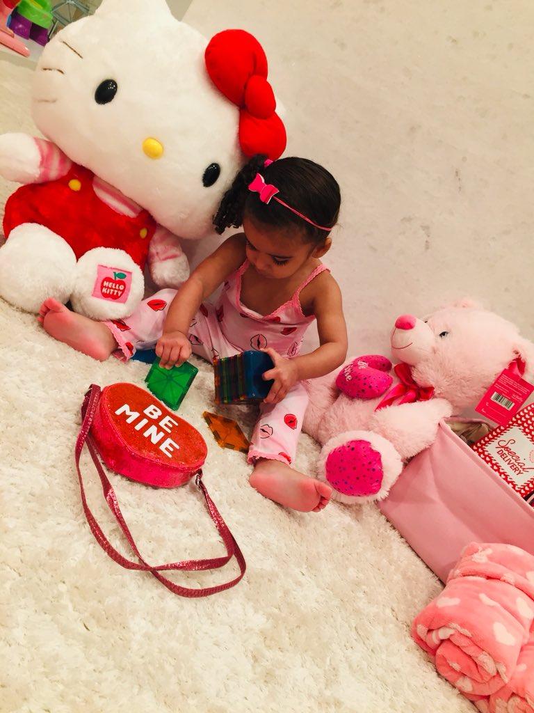 Happy Valentine's Day baby girl‼️ Daddy LOVES YOU 💙💙