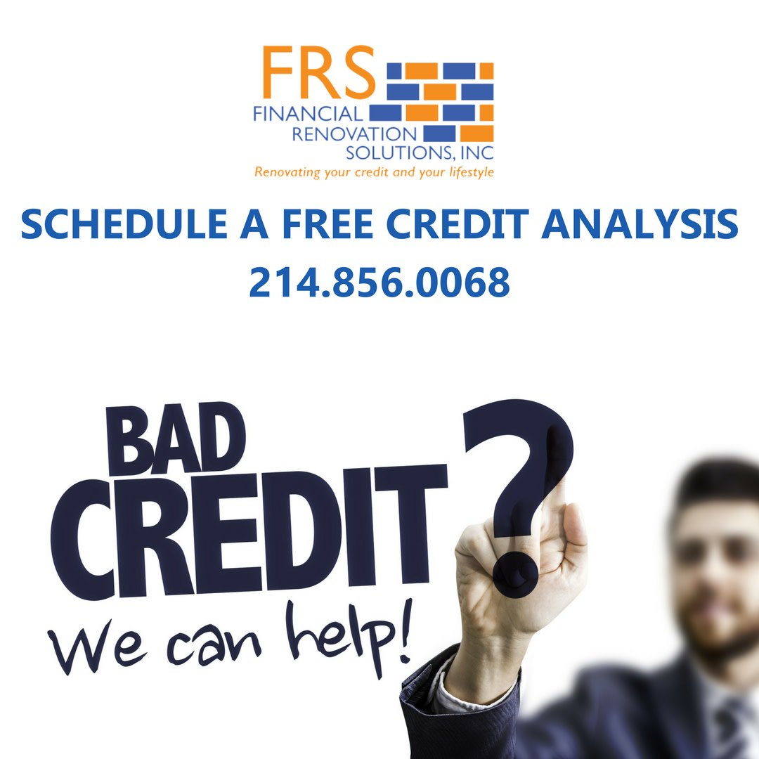 With your credit report, we will perform a FREE credit analysis so we can determine exactly what is on your reports and affecting your credit. It's FREE - click here to get started. https://meetme.so/creditanalysis   #FreeCreditAnalysis #CreditReport #RebuildingCredit #McKinney