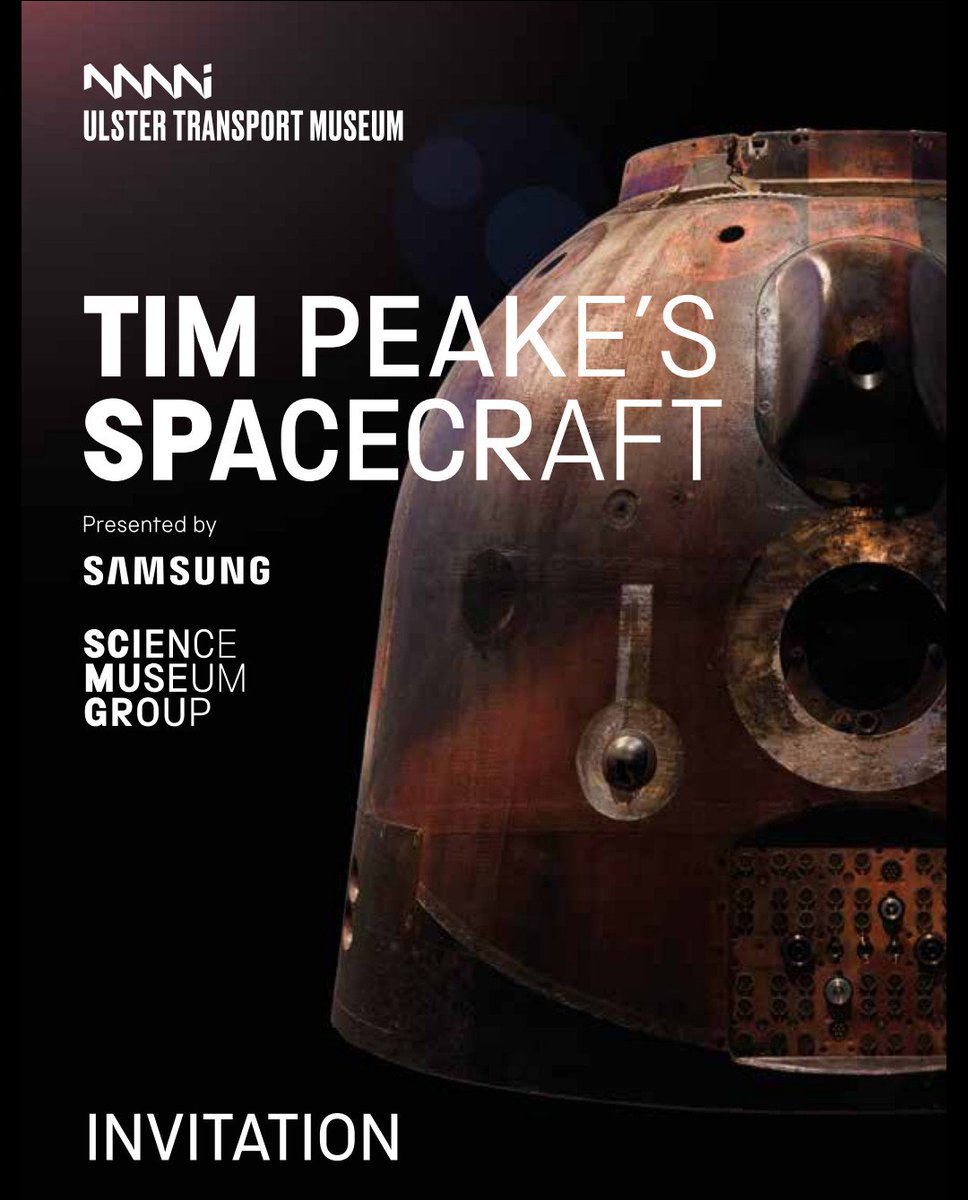 Feeling very privileged &amp; Honoured for #Astronaut_Hayden being invited to the arrival of @astro_timpeake &#39;s #Soyuz (TMA-19M) next Tuesday here in N. Ireland. This exhibition will be open to the public from 20th Feb, so be sure to get a visit to @FolkTransport <br>http://pic.twitter.com/y2EAC4erFa