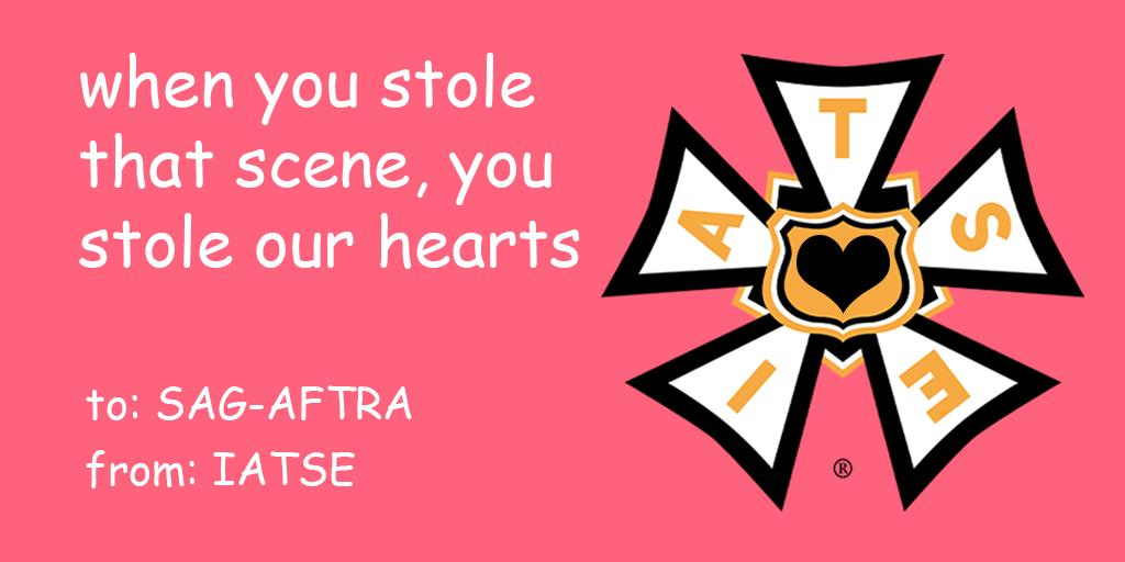 Happy Valentine's Day! @sagaftra