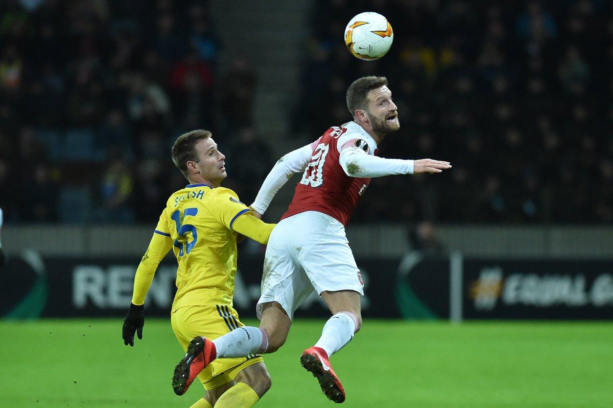 Xem lại BATE vs Arsenal, 0h55 ngày 15/2 (Europa League)