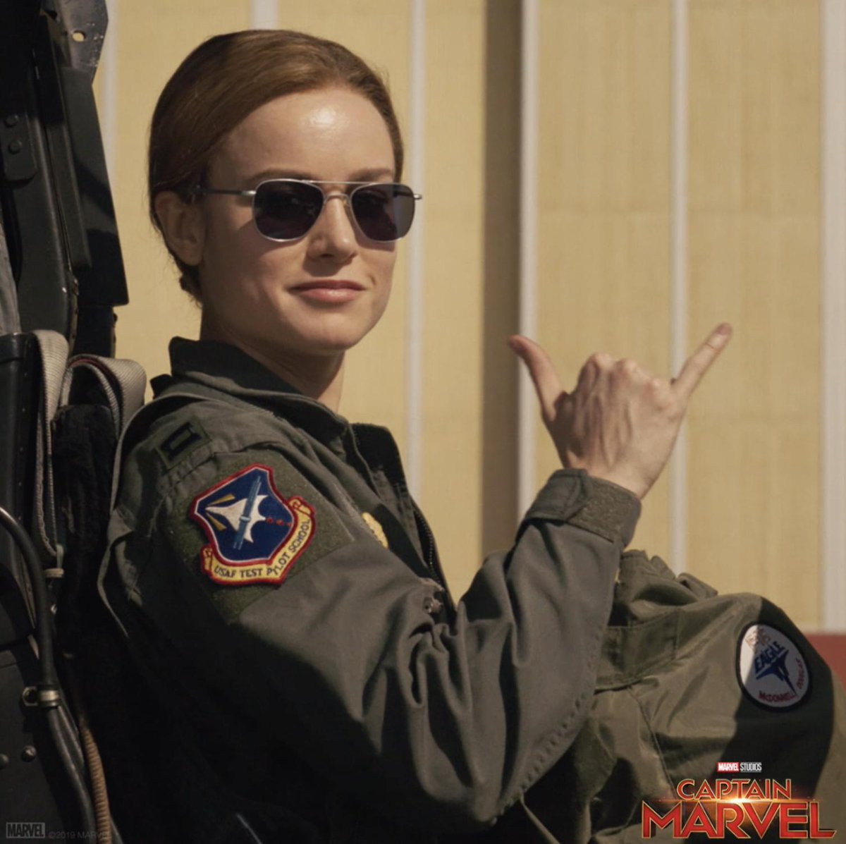 Discover what makes her a hero. Get tickets to Marvel Studios' #CaptainMarvel, in theaters March 8: http://www.Fandango.com/CaptainMarvel