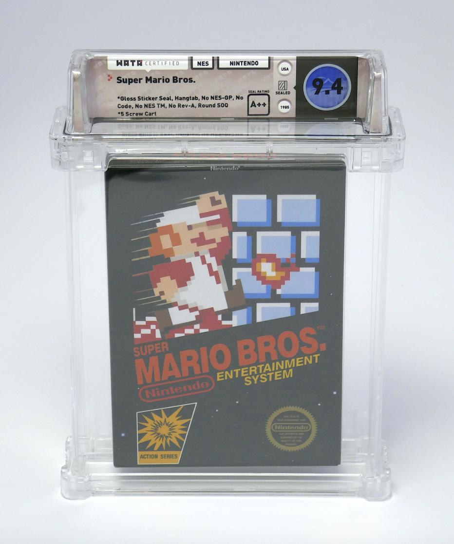 Sealed first-run copy of 'Super Mario Bros.' sells for $100,150 and becomes the highest priced video game ever 😱  (via @HeritageAuction, @TheWataGames)