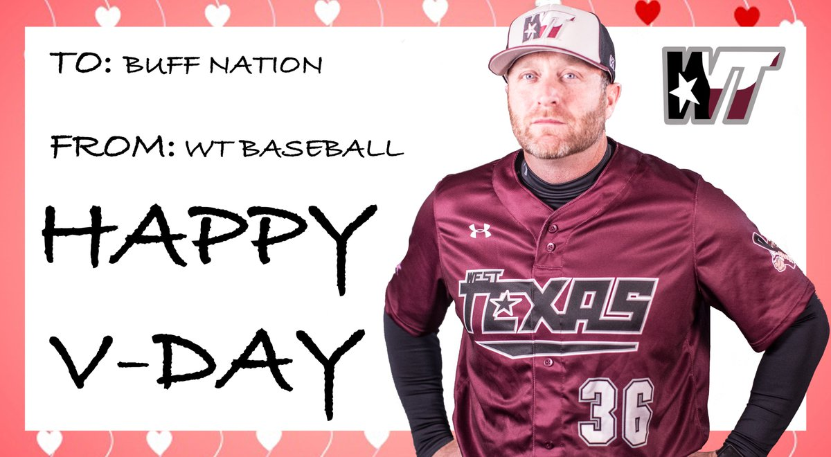 Happy V-Day from WT Baseball!! #WeTrust