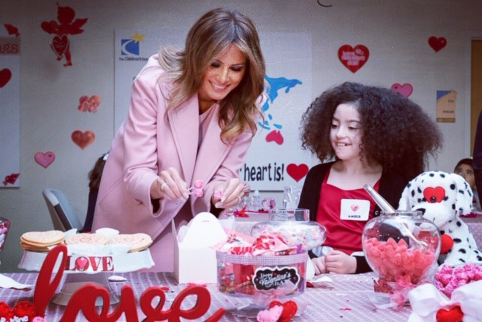 Loved sharing an afternoon with such sweet valentines! Your bravery, strength, and love is amazing. Thank you to the @TheChildrensInn and @NIH for the lifesaving work you are doing! #HappyValentinesDay
