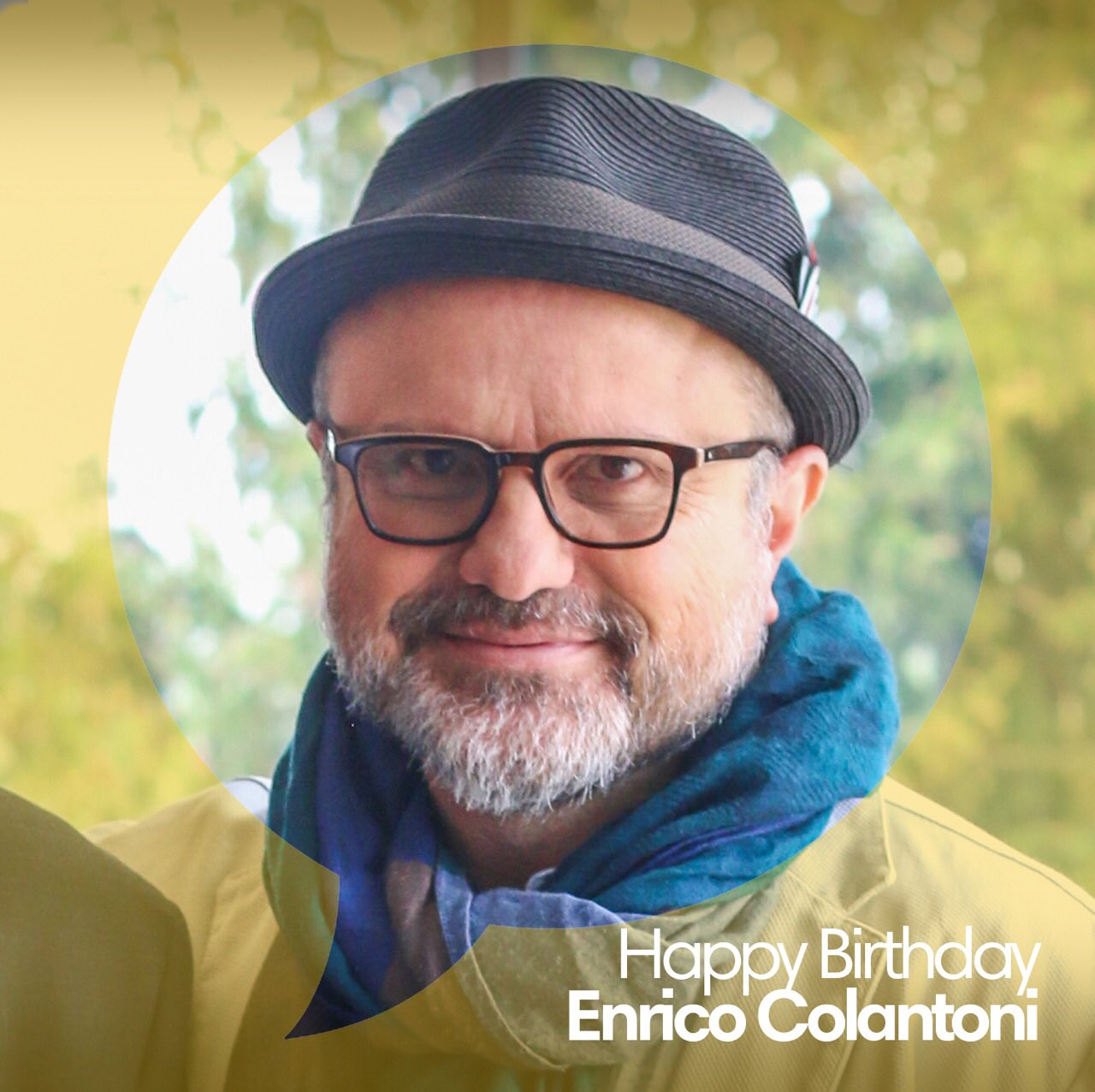 Happy Birthday to our 2017 Indie Leader, Enrico Colantoni!