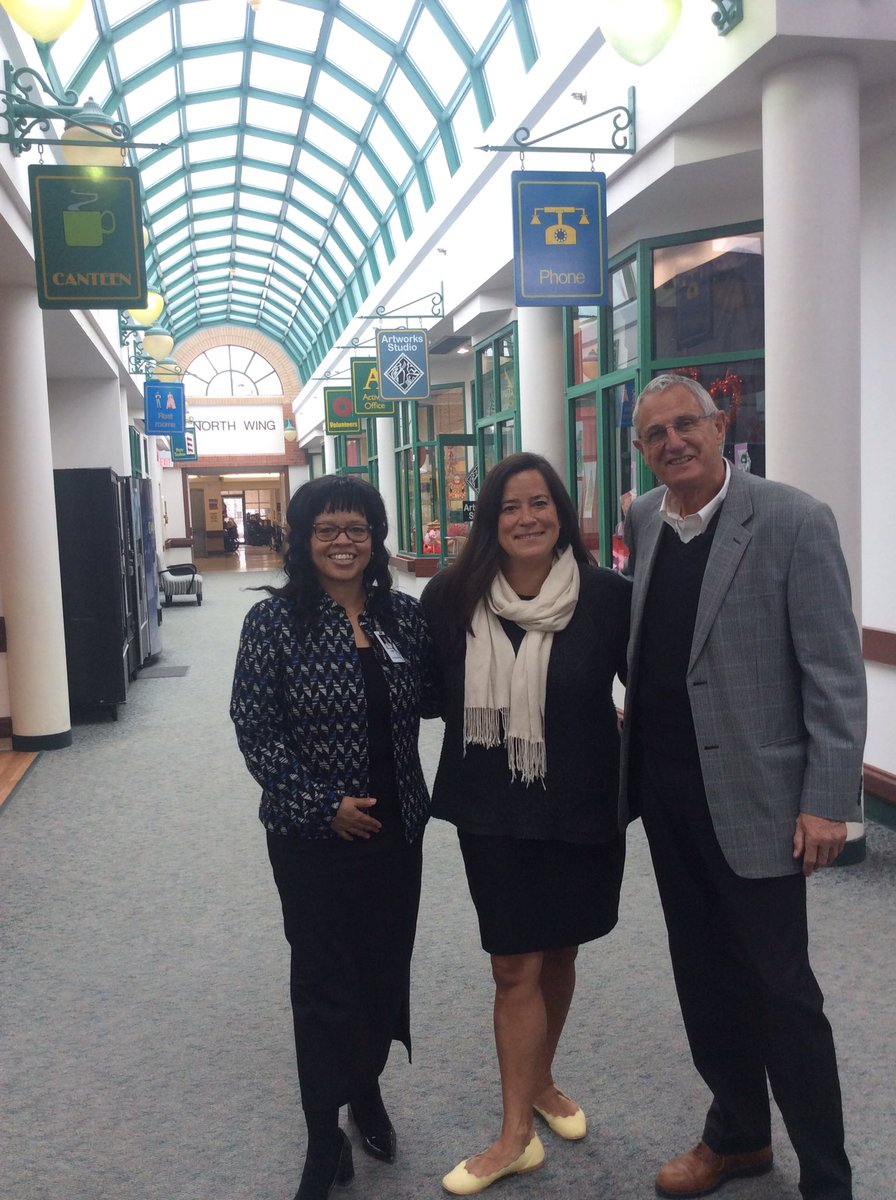 From the veterans, residents, staff and Board @gderbycentre, a huge SO to Madame Jody Wilson-Raybould @Puglaas for her visit today. Thx to the MP for her kind & gracious words and her wonderful sense of humour in presenting valentines to our veterans https://twitter.com/Puglaas/status/1096196311181938689?s=20…