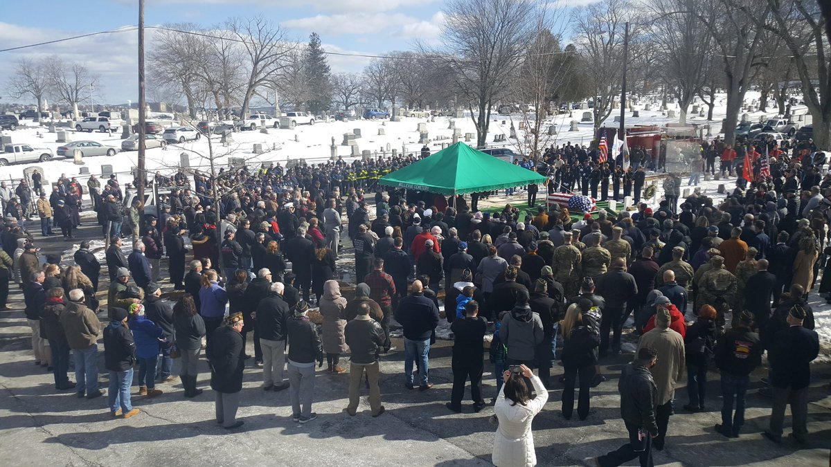 I have two touching stories to share.  First is a follow up to a request for people to attend a funeral for WWII veteran James McCue in Lawrence, Massachusetts.  Many people showed up to honor him.  Thank you to all who attended and help spread the word.