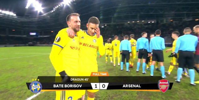 You got to appreciate the commitment of Arsenal players as they just lost 1-0 away to Brazil. #YellowKit. https://t.co/Wakbebt3Zv
