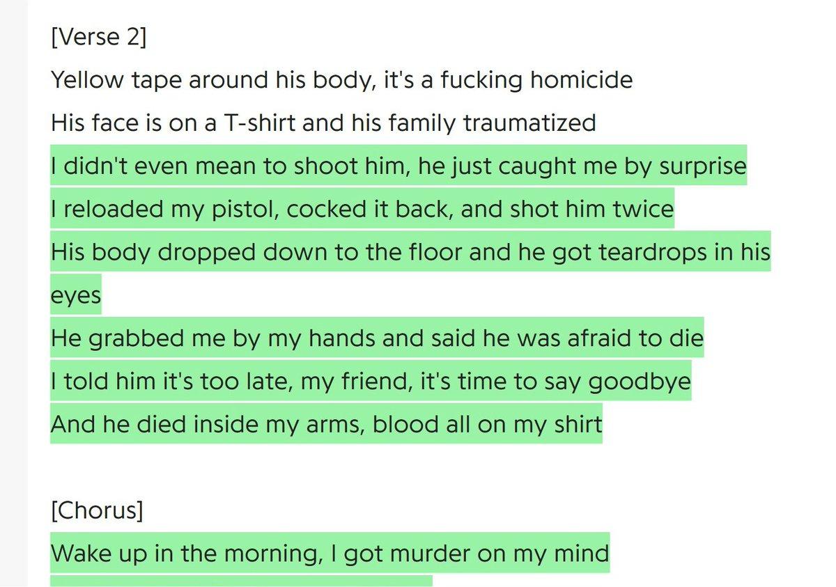 i got murdered in my mind lyrics
