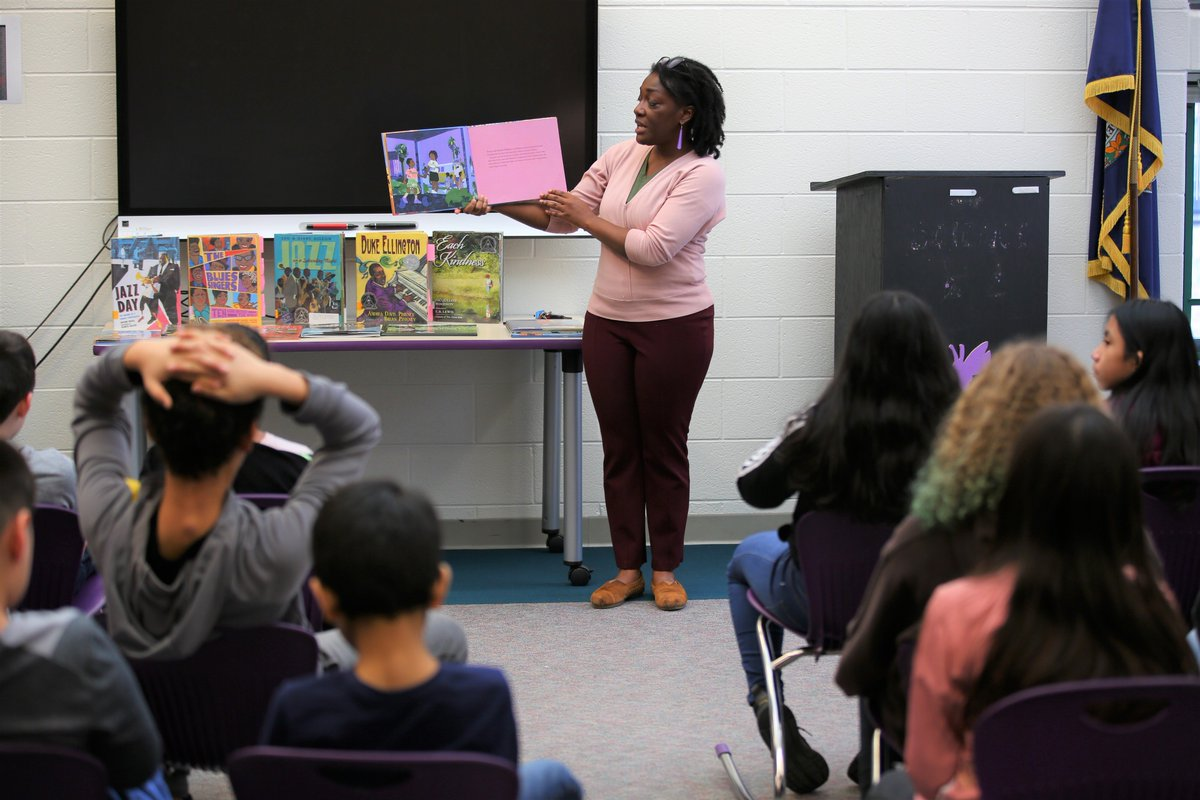 We celebrated African American culture and history today on Day 1 of our African American Read-In! A huge thank you to all of our amazing readers! <a target='_blank' href='http://twitter.com/APSLibrarians'>@APSLibrarians</a> <a target='_blank' href='http://twitter.com/GMSEQUITYEXCEL'>@GMSEQUITYEXCEL</a> <a target='_blank' href='http://twitter.com/kellyhoralek'>@kellyhoralek</a> <a target='_blank' href='http://twitter.com/urbanmathtchr'>@urbanmathtchr</a> <a target='_blank' href='http://twitter.com/APL_Jayla'>@APL_Jayla</a> <a target='_blank' href='http://twitter.com/APSGunston'>@APSGunston</a> <a target='_blank' href='http://search.twitter.com/search?q=BlackHistoryMonth'><a target='_blank' href='https://twitter.com/hashtag/BlackHistoryMonth?src=hash'>#BlackHistoryMonth</a></a> <a target='_blank' href='https://t.co/QUUrQ37lKq'>https://t.co/QUUrQ37lKq</a>