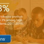 Image for the Tweet beginning: Use of any tobacco product