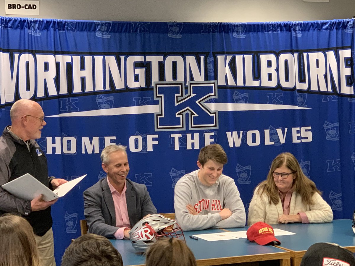 Jack, congratulations! Seton Hill is getting a fine young man. @KilbourneLax @SetonHillLax @WKHSWolves #GoWolves #itsworthit