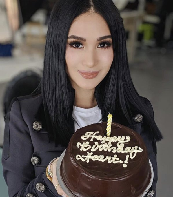 Happy birthday, Heart Evangelista!!Your beauty inside and out inspires us every day!