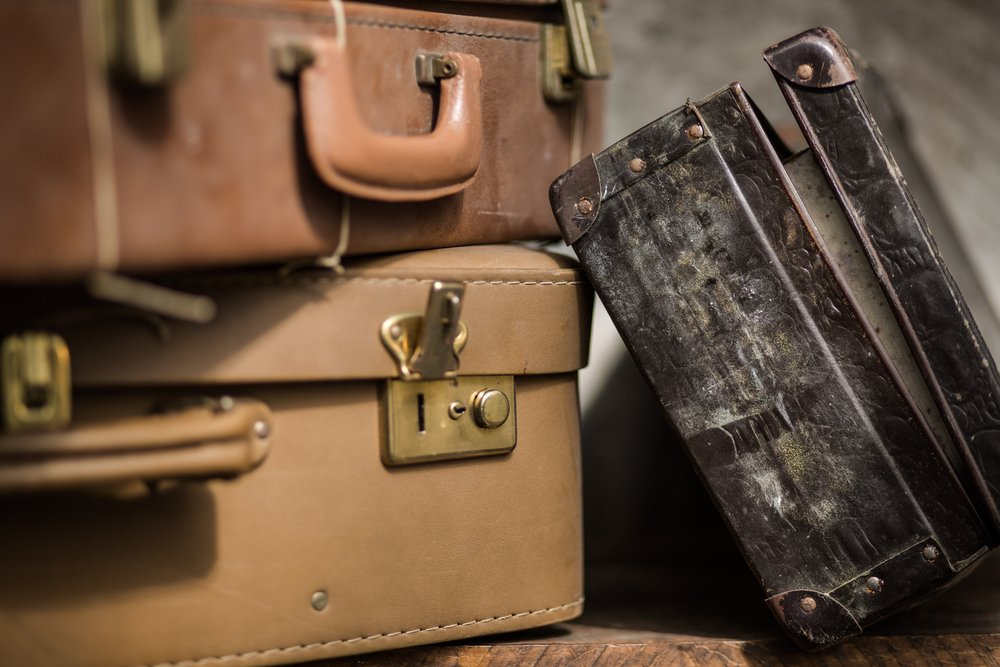 When we hold onto the past, bringing that baggage into the present, chances are we will be crowded out of the future.