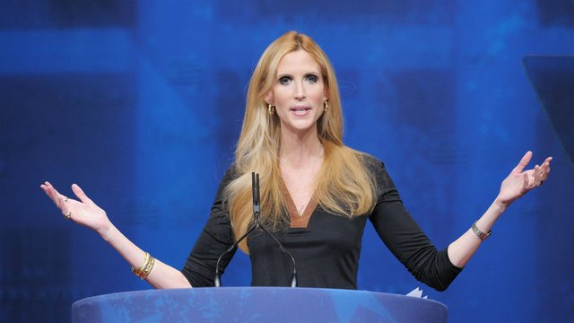"Ann Coulter rips Trump, GOP for ""selling out"" Republican voters by backing funding deal http://hill.cm/H6gt1PL"