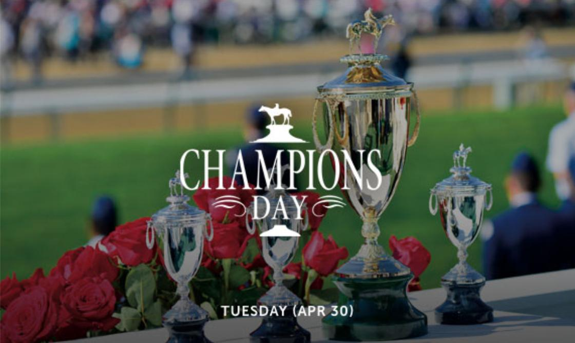 Celebrate the champions of our sport at Champions Day -- April 30th.   Tickets→ https://bit.ly/2pdoqtf