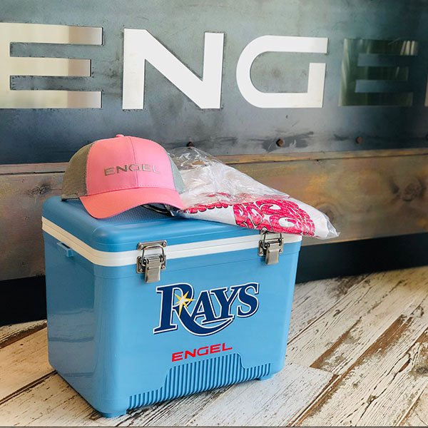 Congratulations to Winner of the Tampa Bay Rays Fan fest giveaway, Lorena - thanks to all who came by to say hi #raysfanfest2019 #raysup #raysfanfest #engelcoolers #engeldrybox #dryboxcooler #officialrayscooler #liveoriginal #tampabayrays #raysbaseball #devilrays #engelhat<br>http://pic.twitter.com/BKpnksyWOq