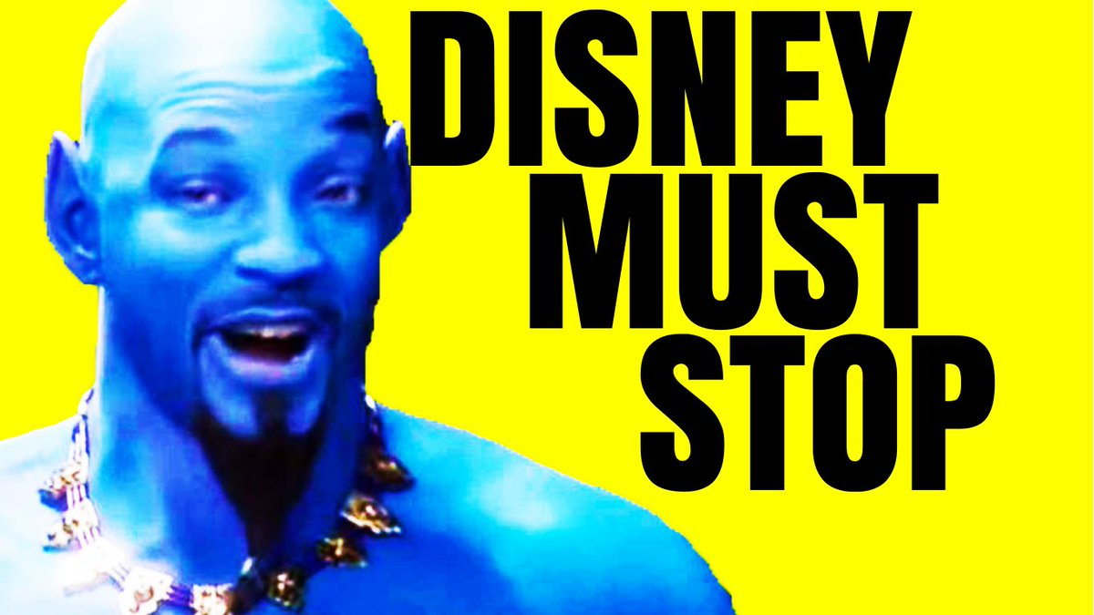 NEW VIDEO! Where I vent about #Aladdin2019 and Disney remakes in general.   https://www. youtube.com/watch?v=2QB1H5 cvSgw &nbsp; … <br>http://pic.twitter.com/LU1a1DvPaF
