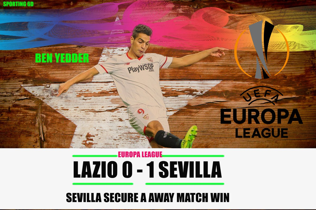 Sevilla usually does well in Europa League. They secure a crucial Away win against Lazio. Ben Yedder stars. #benyedder #WeareSevilla #VamosMiSevilla #Lazio #LazioSevillaFC #ThursdayThoughts #futbol #EuropaLeague